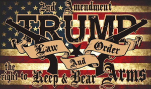 Trump 2nd Amendment Flag
