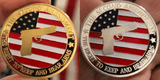 PRO GUN FULL COLOR GOLD & SILVER COLLECTABLE COIN SET