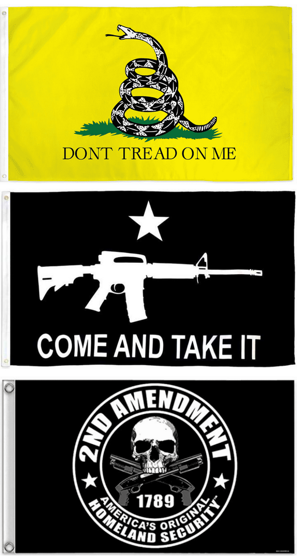 Gun Rights Supporter Flags