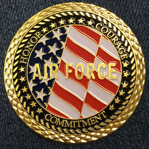 AIR FORCE VETERAN COIN