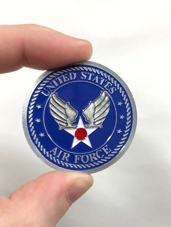 Death Smiles At Everyone, Air Force Smile Back Coin [Air Force Edition]