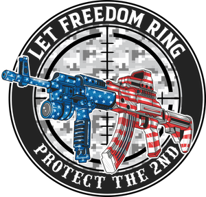 Let Freedom Ring Sticker