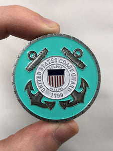 Death Smiles At Everyone, Coast Guard Smile Back Coin [Coast Guard Edition]