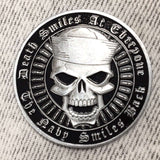 Death Smiles At Everyone, Navy Smile Back Coin [Navy Edition]