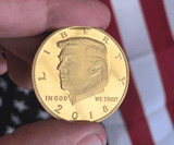 "The Donald J. Trump Presidential ""Legacy "" Gold Coin [LIMITED SUPPLIES]"