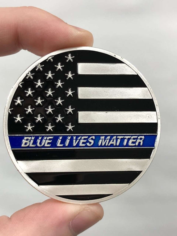 Blue Lives Matter Coin