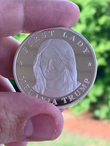 First Lady Melania Trump Commemorative Coin - Gold or Silver