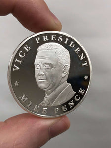 Vice President Mike Pence - Silver Commemorative Coin