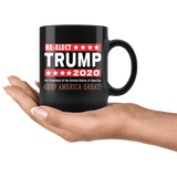 "Re-Elect President Trump in 2020 ""Keep America Great"" Coffee Mug"