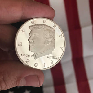 "The Donald J. Trump Presidential ""Legacy "" Silver Coin [LIMITED SUPPLIES]"
