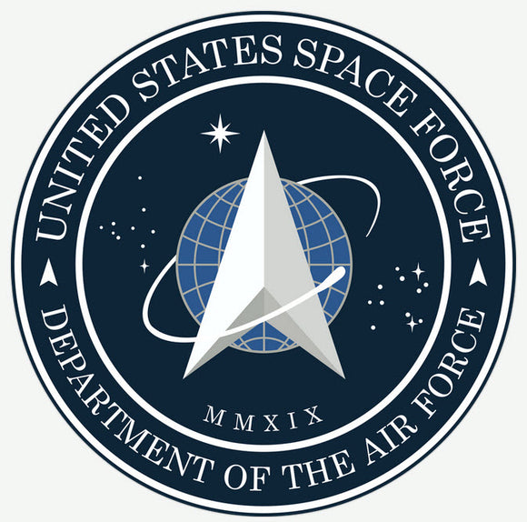 Official Space Force Seal Sticker