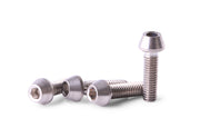 M4x15 Titanium Screws Taper Head