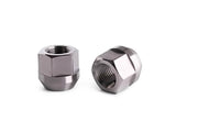 "Titanium Open End Lug Nuts Acorn 1/2""X20 Ford Mustang 20 pieces"