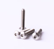 M3x15 Titanium Screw Button Head