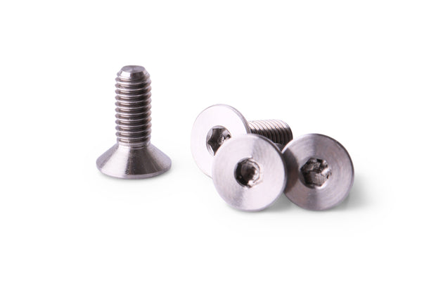 M3x8 Titanium Screw Flat Head
