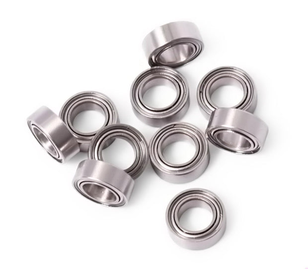 4x7mm Stainless Steel Ball Bearings MR74 10 pcs