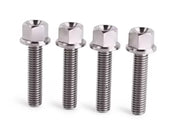 M8x35 Titanium bolts Flanged Head