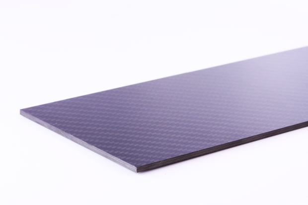 100X300X1.5MM 100% 3K Carbon Fiber Plate Panel Sheet 1.5mm Thickness