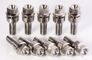 Porsche 911 Titanium Lug Bolts for 5mm spacers