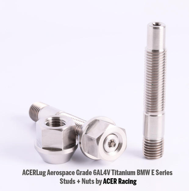 BMW  E Series E30 E36 E46 E90 E91 E92 E93 75mm 90mm Titanium Studs by ACER Racing