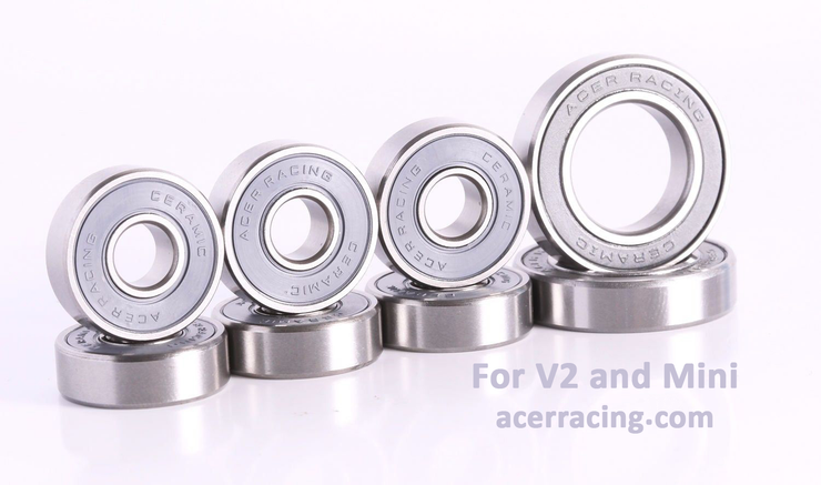 Boosted Board Ceramic Bearing Upgrade Service Kit