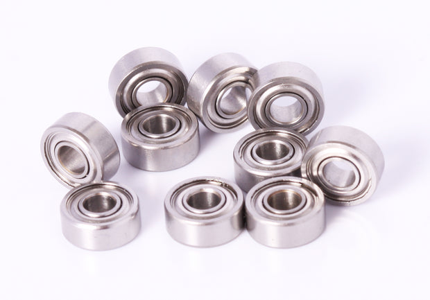 4x10x4mm Ball Bearing Stainless 10pcs MR104 4x10mm Fishing Reel Bearings