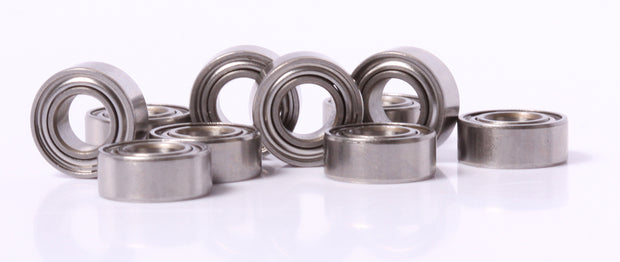 5x10x4mm Stainless Steel Ball Bearings MR105 10 pcs