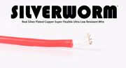 SILVERWORM Silver Plated Silicone Wire 12 Gauge
