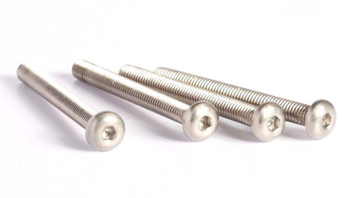 M4x40 Titanium Screw Button Head 4 pieces
