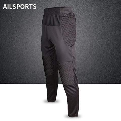 871609d0f Men Professional Soccer Training Pant Goalkeeper Pants Shorts Sponge  Football Goal Keeper Rugby Trousers Goalie Sport