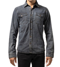 Load image into Gallery viewer, LS Chambray Denim Shirt
