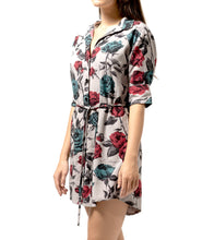 Load image into Gallery viewer, MALLORY SHIRT DRESS ROSE