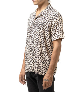 Hawaiian S/S Shirt Leopard