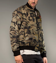 Load image into Gallery viewer, Bomber Camo Jacket