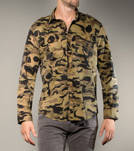 Load image into Gallery viewer, Camo Skull Shirt