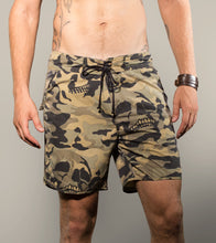 Load image into Gallery viewer, Camo Skulll Boardies