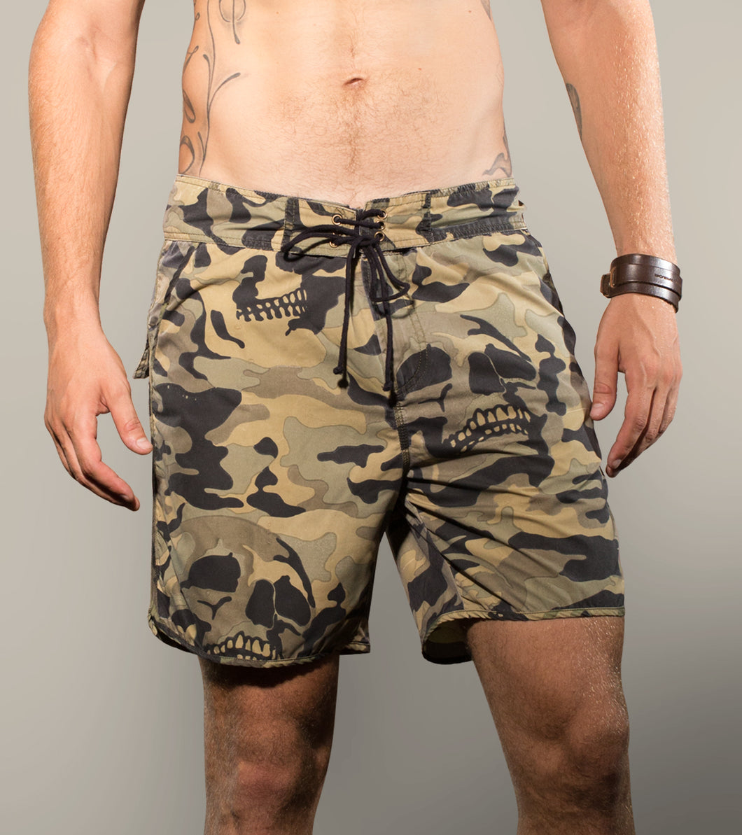 Camo Skulll Boardies