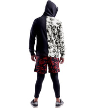 Load image into Gallery viewer, Skull Comb Hoodie 2 Tone