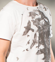 Load image into Gallery viewer, SKULL BIRD CREW TSHIRT