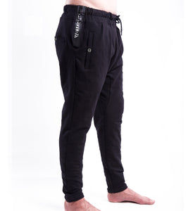 SNAPBUTTON ICON SWEAT PANT