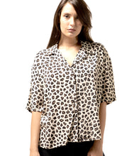 Load image into Gallery viewer, Leopard Short Sleeves