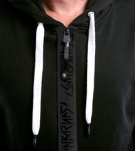 Load image into Gallery viewer, SKULL ICON HOODIE ZIP UP