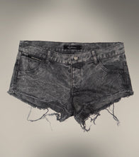 Load image into Gallery viewer, Black Stone Washed Vintage Denim