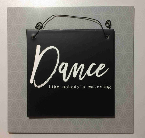DANCE Hanging Plaque & Greetings Card Type 0002
