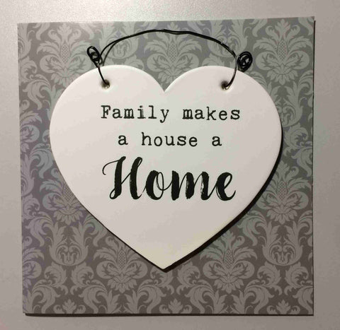 HOME Hanging Plaque & Greetings Card Type 0010