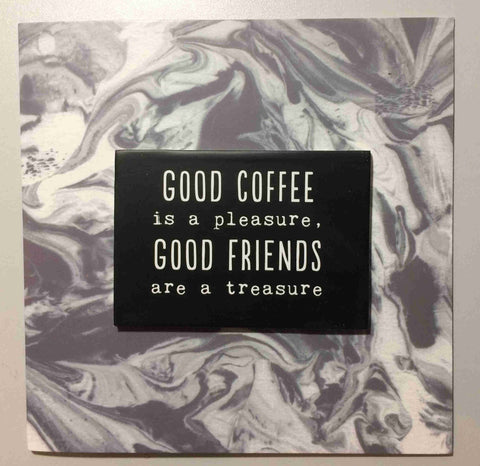 GOOD COFFEE Fridge Magnet & Greetings Card Type 0018