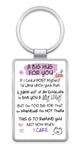 A BIG HUG FOR YOU - Inspired Words Keyring Type 1008