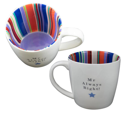 MR ALWAYS RIGHT Inside Out Mug Type 131