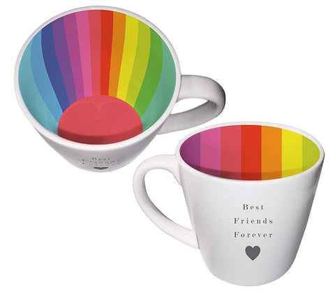 BEST FRIENDS FOREVER Inside Out Mug Type 132