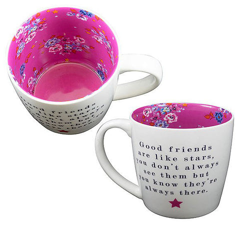 FRIENDS ARE LIKE STARS Inside Out Mug Type 133